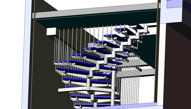 Лестницы, ограждения
