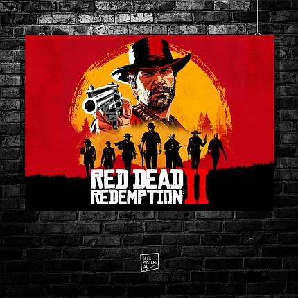 Постер Red Dead Redemption 2 (60x85см), фото 2