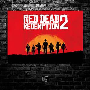 Постер Red Dead Redemption 2 (60x85см)