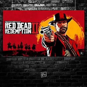 Постер Red Dead Redemption 2 (60x107см)