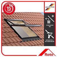 Окно мансардное Roto Designo WDF R75 H N WD AL 11/14