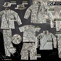 US ACU штаны ACU (PolyCotton)