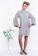Donna-M Платье серое SO-13299-GRY , фото 1