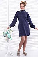 Donna-M Платье синее SO-13299-BLU , фото 1