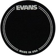 Кик пэд для бас-барабана EVANS EQPB1 EQ PATCH BLACK SINGLE