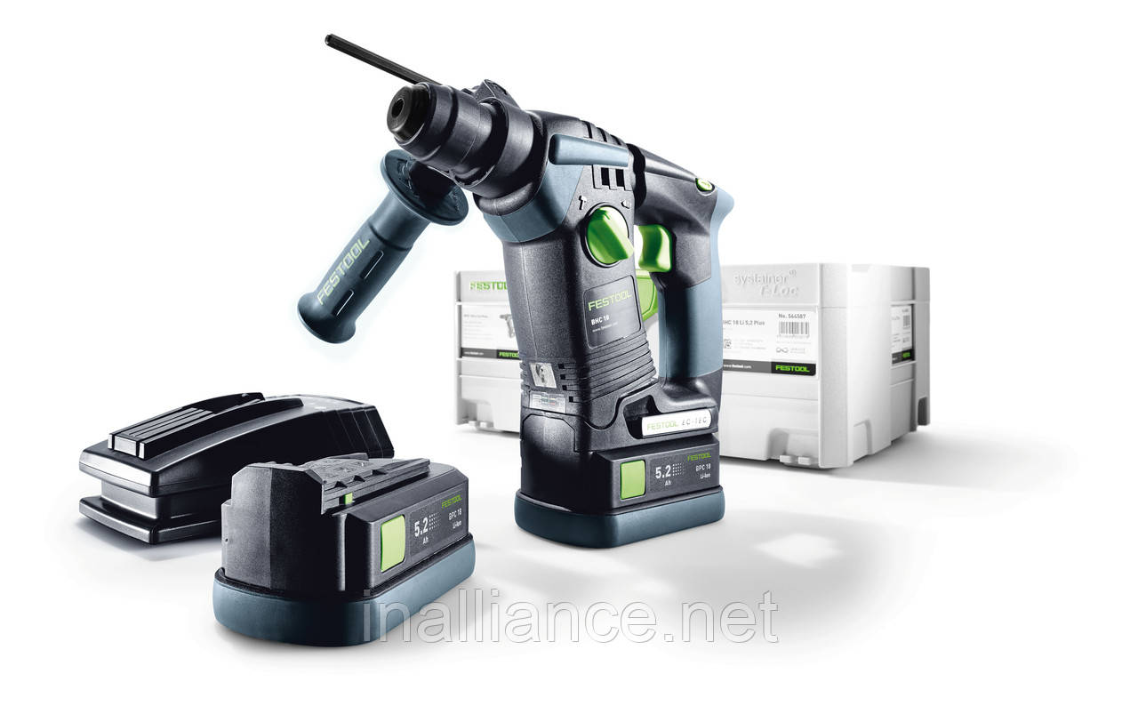 Аккумуляторный перфоратор BHC 18 Li 5,2 I-Plus Festool 575697