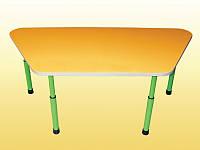 Детский стол трапеция регулируемый 1100х520х460-580 мм.