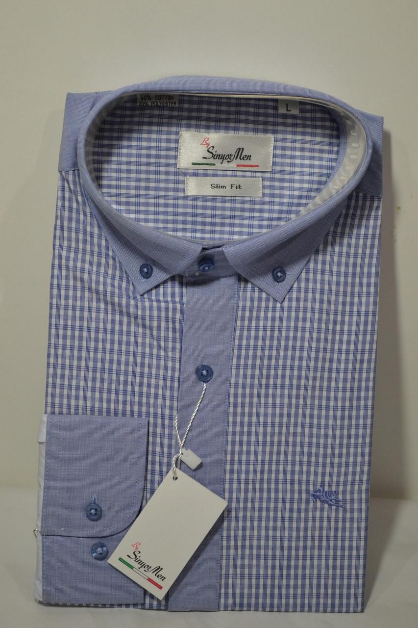 Рубашка приталенная SeniorMAN (размер M.L.XL.XXL.XXXL)