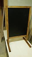 Меловой штендер, меловая доска меню (односторонний). Купить штендер, спотыкач Киев