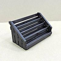 Органайзер для гель-лаков 44шт венге