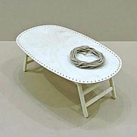 Столик-поднос для завтрака Вайоминг без отделки (не прошнурованный)