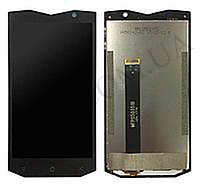 Дисплей (LCD) Blackview BV8000 Pro + сенсор чёрный