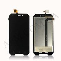 Дисплей (LCD) Blackview BV4000/ BV4000 Pro + сенсор чёрный