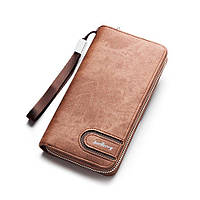 Мужской кошелек клатч портмоне Baellerry s1514, brown, фото 1