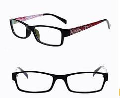 Очки компьютерные my style, для стильных девушек, защита от уф-лучей uv400, мешочек для хранения, пластик