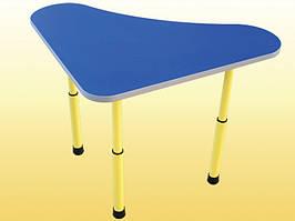 Дитячий стіл Дзвіночок регульований 600х600х460-580 мм