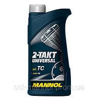 Моторное масло для двухтактных двигателей MANNOL 2-TAKT UNIVERSAL 1л.
