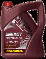 Моторное масло MANNOL ENERGY FORMULA FR  5W-30 API SN 5л.