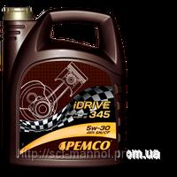 Синтетическое дизельное моторное масло Pemco iDrive345 SAE 5W-30; API SM/CF  5L