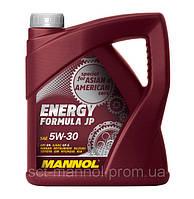 Моторное масло MANNOL ENERGY FORMULA JP (SAE 5W-30 API SN) 4л.