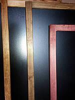Меловые доски-меню (доски для письма мелом) 1000Х1000