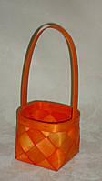 Корзина LUBA оранжевая , фото 1