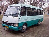Лобовое стекло автобуса KIA Asia