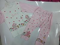 Пижама  трик дев Домики р 68-86 TWETOON, фото 1