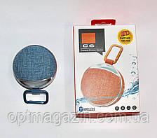 Портативна Колонка JBL C6 з SD, FM, Bluetooth, 1-динаміком, карабіном і ліхтариком, фото 2