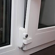 Блокиратор на окно Доктор Комаровский Кроха Baby Safe Lock Белый, фото 6
