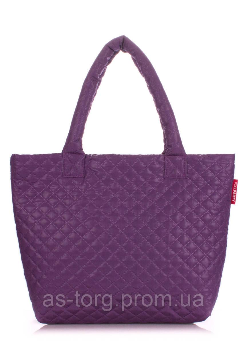 d6f15bf421ec Фиолетовая сумка стеганая POOLPARTY  продажа, цена в Днепре. от ...