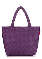 Фиолетовая сумка стеганая POOLPARTY