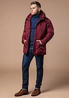Зимняя фирменная стеганая куртка красная ( 48, 50, 52, 54, 56 )