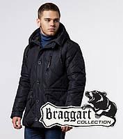 Braggart Dress Code  | Куртка зимняя фирменная мужская черная ( M L XL 2XL 3XL 4XL)
