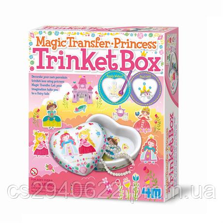 Набор для творчества 4M Шкатулка для принцессы (00-04684)