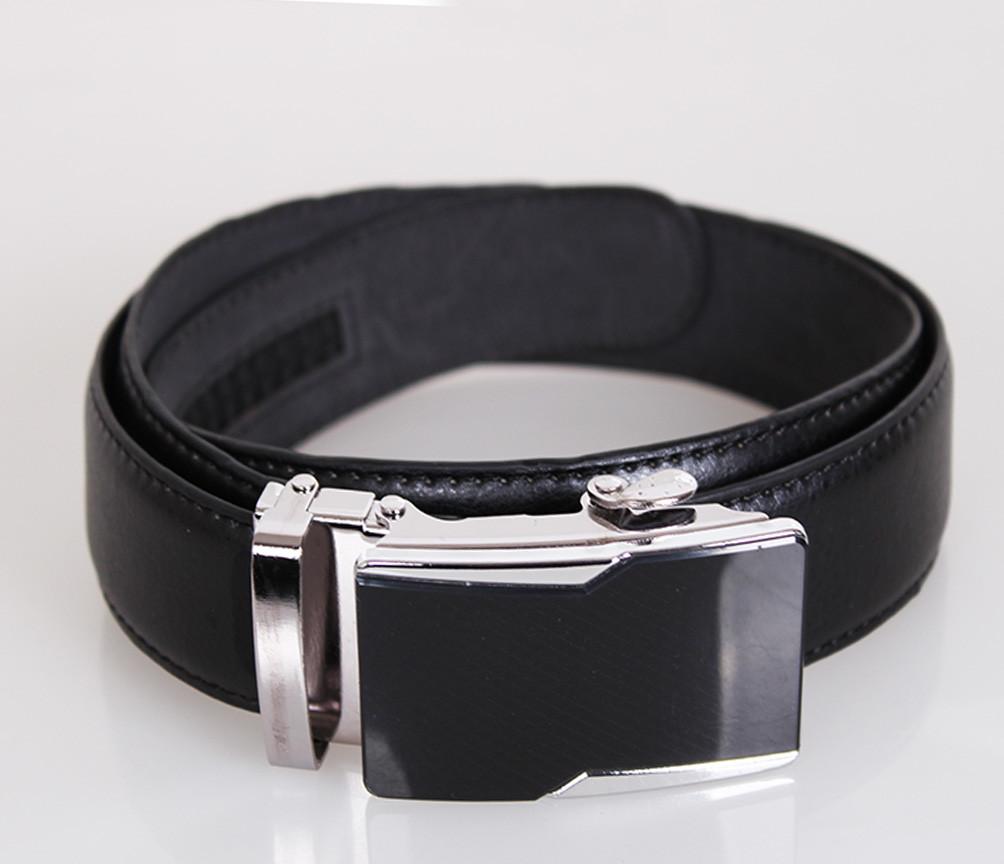Мужской ремень Dovhani MW682499-5  115 см Черный