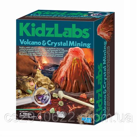 Набор для творчества 4M Вулкан и кристаллы (00-05532)