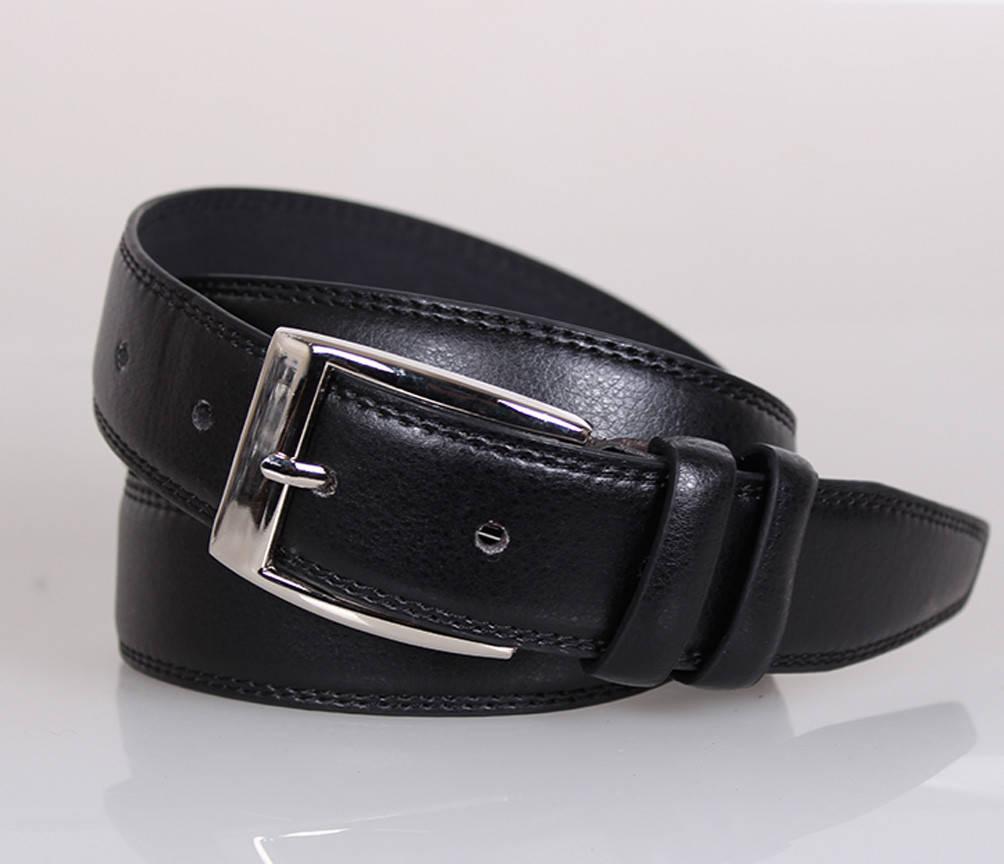 Мужской ремень Dovhani MW682499-6  140 см Черный