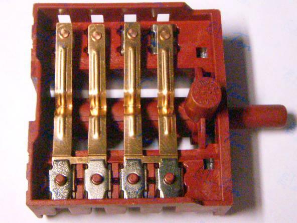 Переключатель пятипозиционный 413 В для электроплит Лемира, Элна и др. (Турция)