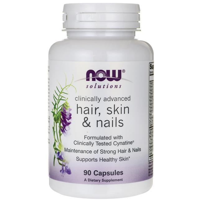 Витамины NOW Foods HAIR, SKIN and NAILS 90 капсул