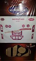 Декоративные накладки на панель приборов на Fiat Fiorino 2008+