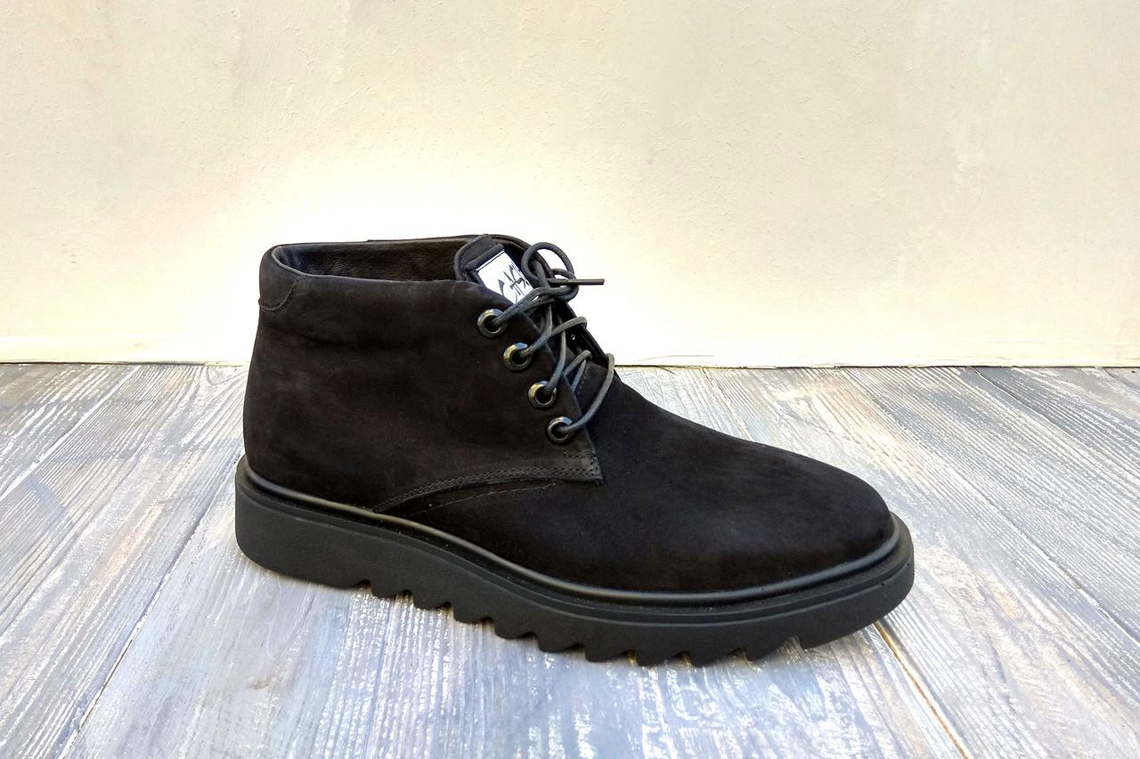 Черевики зимові з нубуку - класне взуття для повсякденного використання! 44 розміру