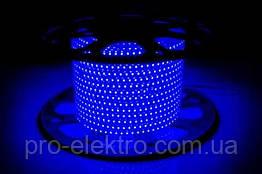 LED лента 2835 AVT # 10-B AVT-120B2835-220V-4W/m IP65 5mm Синий 1017820