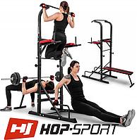 Шведська стінка Workout станція з лавкою Hop-Sport HS-1005K