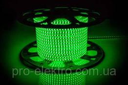 LED лента 2835 AVT # 10-G AVT-120G2835-220V-4W/m IP65 5mm Зелёный 1017819