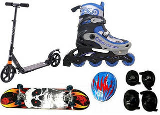 Ролики, скейты, самокаты ...
