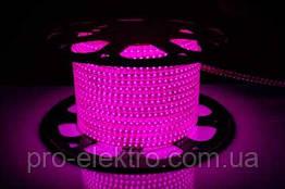 LED лента 2835 AVT # 10-P AVT-120P2835-220V-4W/m IP65 5mm Розовый 1017823