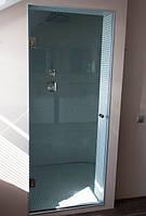 Стеклянная дверь в душ, фото 1