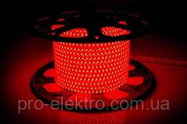 LED лента 2835 AVT # 10-R AVT-120R2835-220V-4W/m IP65 5mm Красный 1017818
