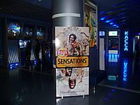Реклама в кинотеатрах Киева.